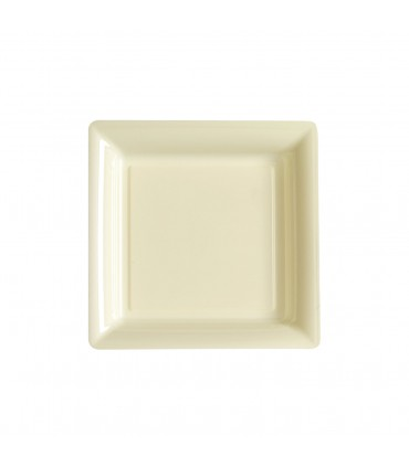 Assiette dessert 18cm ivoire