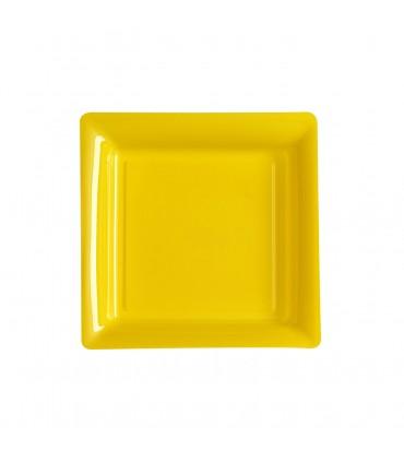 Assiette dessert 18cm jaune