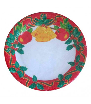 Assiette christmas fruits