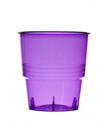 Gobelet cristal 25 cl fuchsia