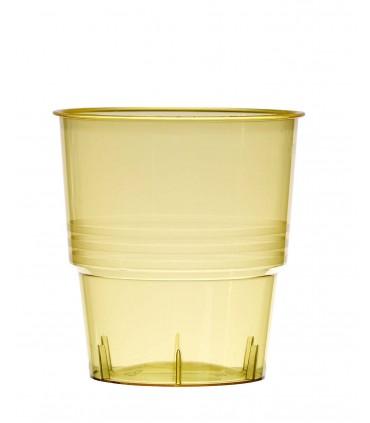 Gobelet cristal 25 cl jaune