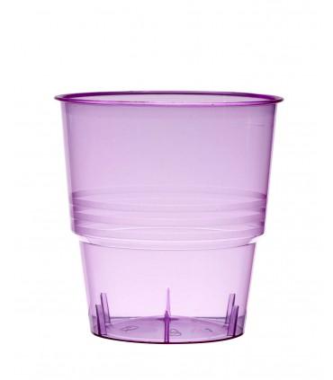 Gobelet cristal 25 cl parme