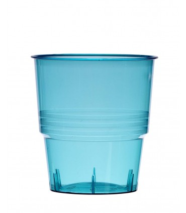 Gobelet cristal 25cl turquoise