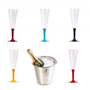 Flûte à champagne couleur