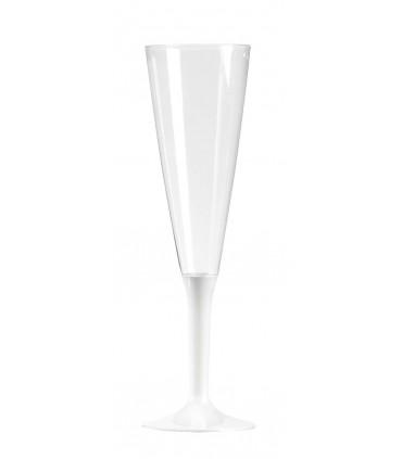 Flute à pied 13cl blanc