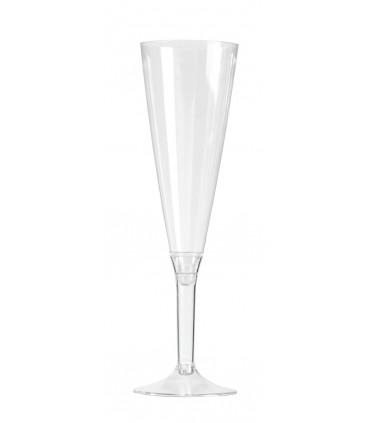 Flute à pied 13 cl cristal