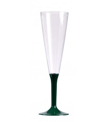 Flute à pied 13 cl vert