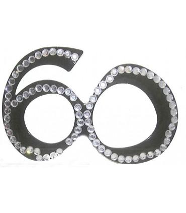 Lunette 60 ans diamant noire