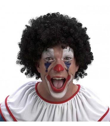 Perruque clown noire