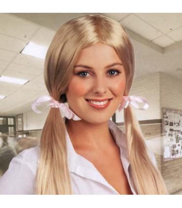 Perruque school blonde