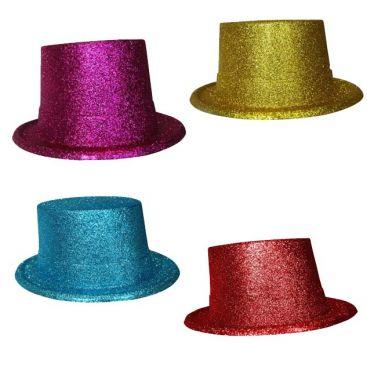 Chapeau haut de forme paillette