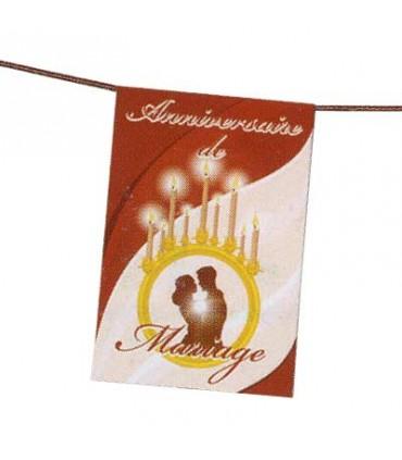 Banderole anniversaire de mariage