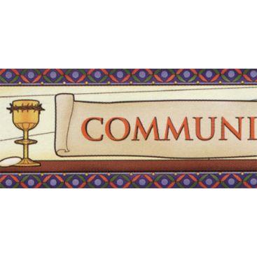 Bannière communion