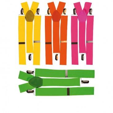 Bretelles couleur