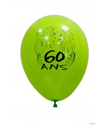 Ballon 25 cm 60 ans