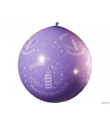 Ballon 1 m anniversaire