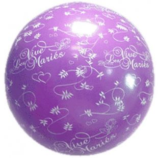 Ballon Vive les Mariés