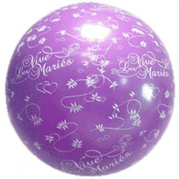 Ballon 1 m mariage