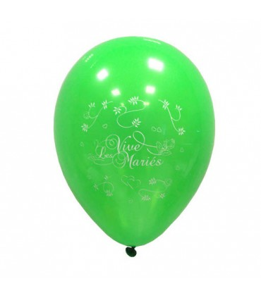 Ballon 30 cm mariage