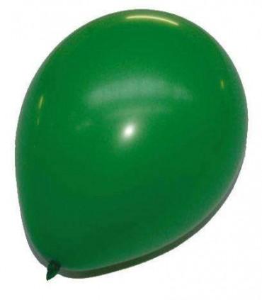 Ballon uni standard 30 cm vert
