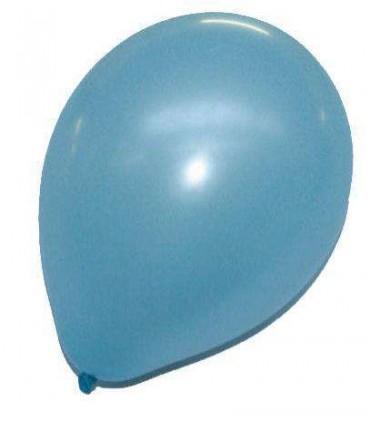 Ballon uni standard 30 cm ciel