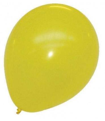 Ballon uni standard 30 cm citron