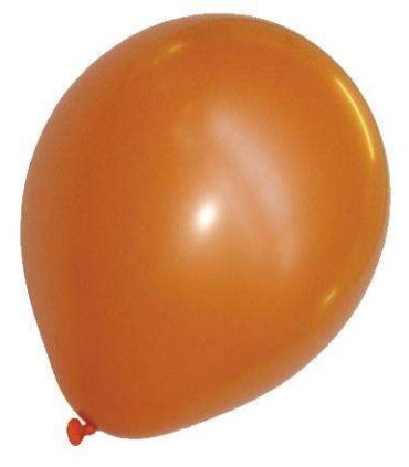 Ballon uni standard 30 cm orange