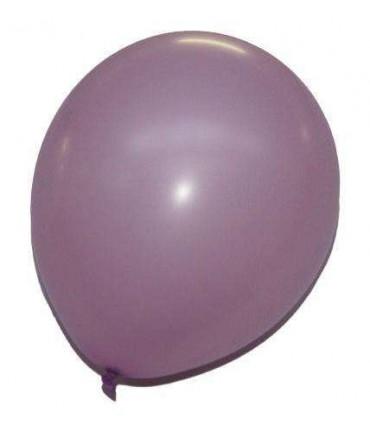 Ballon uni standard 30 cm parme