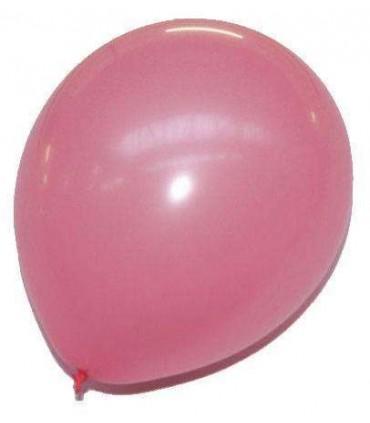 Ballon uni standard 30 cm rose