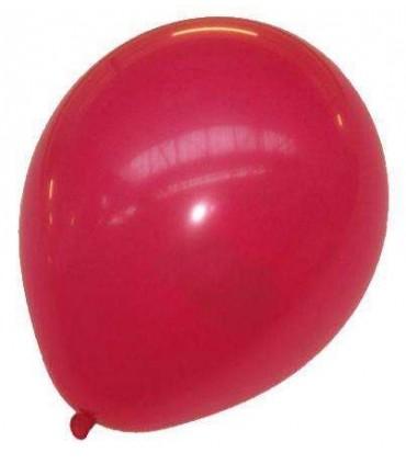 Ballon uni standard 30 cm rouge
