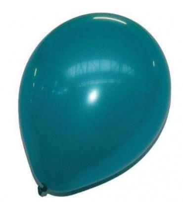 Ballon uni standard 30 cm turquoise