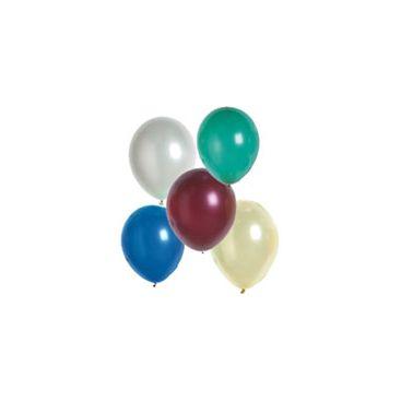 Ballon uni métallisé 30 cm x 100