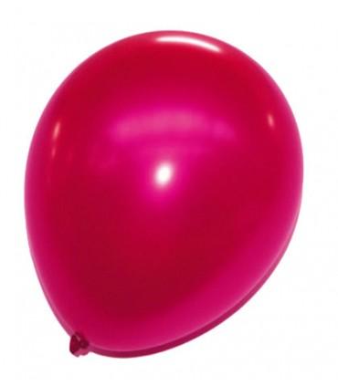Ballon uni métallisé 30 cm x 50