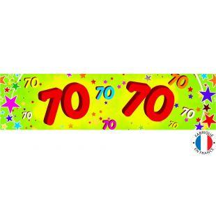 Bannière 70 ans