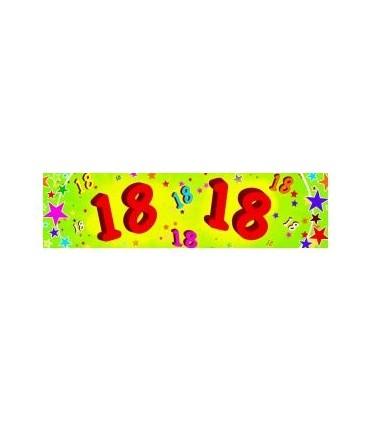 Bannière 18 ans