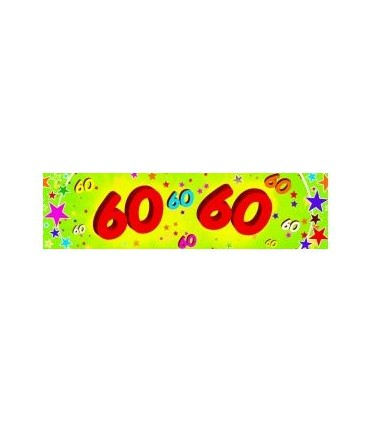 Bannière 60 ans