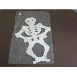 Guirlande squelette blanc