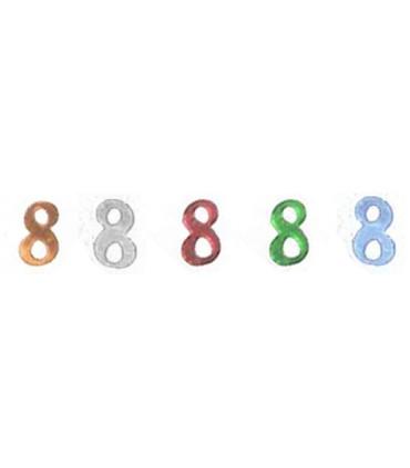 Confetti chiffre 14 grs