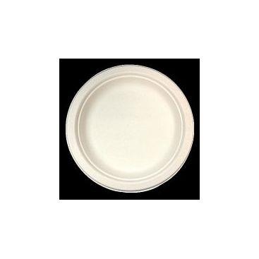 Assiette ronde fibre de canne