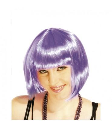 Perruque cabaret violette