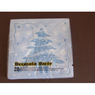 Christmas tree : serviette ouate