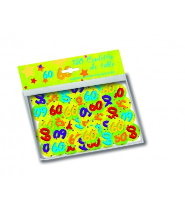 Confetti carton age
