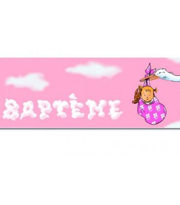 Bannière baptême