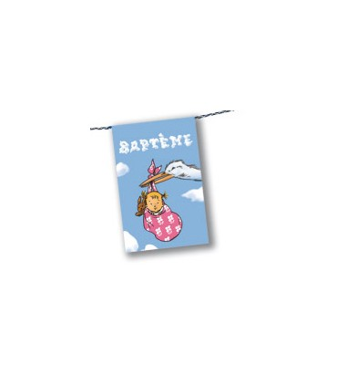 Banderole baptême
