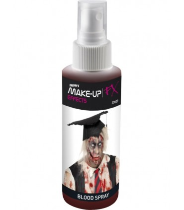 Faux sang spray