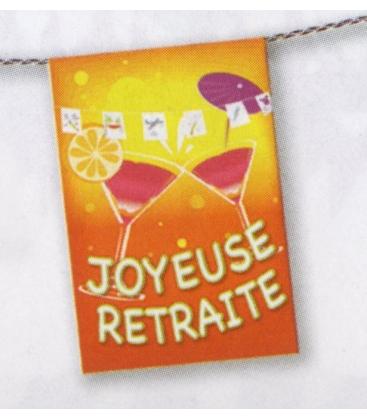Banderole joyeuse retraite