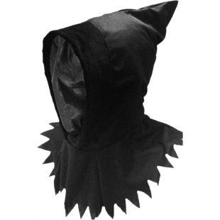 Masque cagoule noire invisible