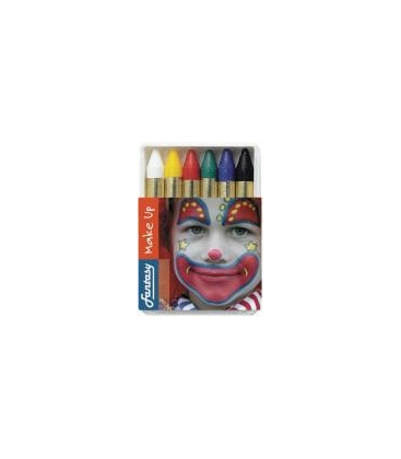 Crayons maquillage x 6