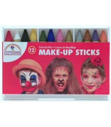 Crayons maquillage x 12