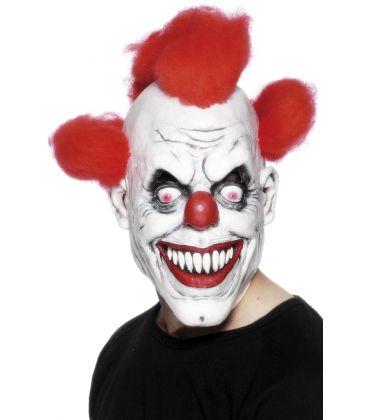 Masque latex clown maléfique